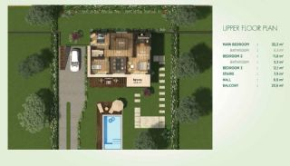 Detached Villas Interwined with Nature in Istanbul, Property Plans-4