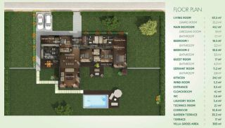 Detached Villas Interwined with Nature in Istanbul, Property Plans-5