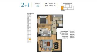Centrally Apartments in Maltepe Close to All Amenities, Property Plans-8