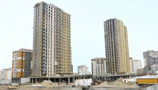 Centrally Istanbul Apartments Close to TEM Highway, Construction Photos-1