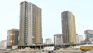 Квартиры в Центре Стамбула Рядом с Шоссе ТЕМ, Фотографии строительства-1