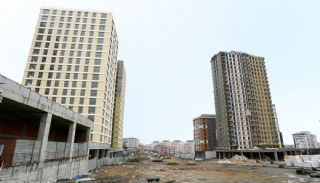 Квартиры в Центре Стамбула Рядом с Шоссе ТЕМ, Фотографии строительства-2