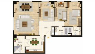 Centrally Istanbul Apartments Close to TEM Highway, Property Plans-5