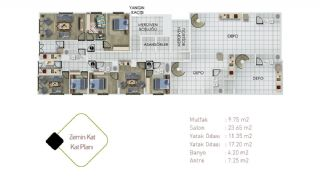 Well-Designed Central Property in Istanbul Kagithane, Property Plans-1
