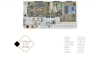 Well-Designed Central Property in Istanbul Kagithane, Property Plans-3
