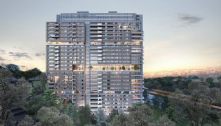 Contemporary Istanbul Apartments in a Modern Complex, Istanbul / Eyup