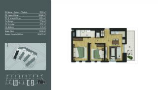 Contemporary Istanbul Apartments in a Modern Complex, Property Plans-1