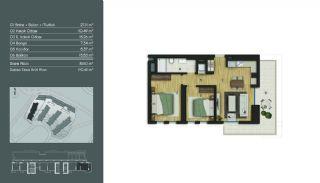 Samtida Istanbul Lägenheter i Ett Modernt Komplex, Planritningar-2