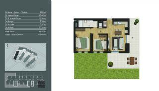 Samtida Istanbul Lägenheter i Ett Modernt Komplex, Planritningar-3