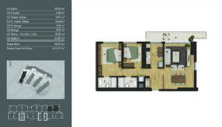 Samtida Istanbul Lägenheter i Ett Modernt Komplex, Planritningar-4