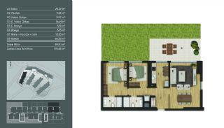 Samtida Istanbul Lägenheter i Ett Modernt Komplex, Planritningar-5
