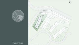 Samtida Istanbul Lägenheter i Ett Modernt Komplex, Planritningar-11