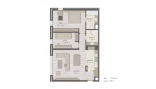 Eco-Friendly Flats in the Center of Sisli Istanbul, Property Plans-1