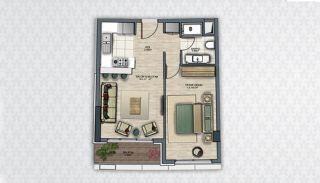 Современные Квартиры в Стамбуле Рядом с Инфраструктурой, Планировка -2