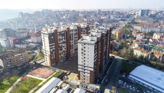 Turnkey Istanbul Flats Close to the Metro Station in Eyup, Construction Photos-1