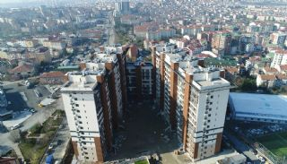 Turnkey Istanbul Flats Close to the Metro Station in Eyup, Construction Photos-3