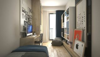 Turnkey Istanbul Flats Close to the Metro Station in Eyup, Interior Photos-9