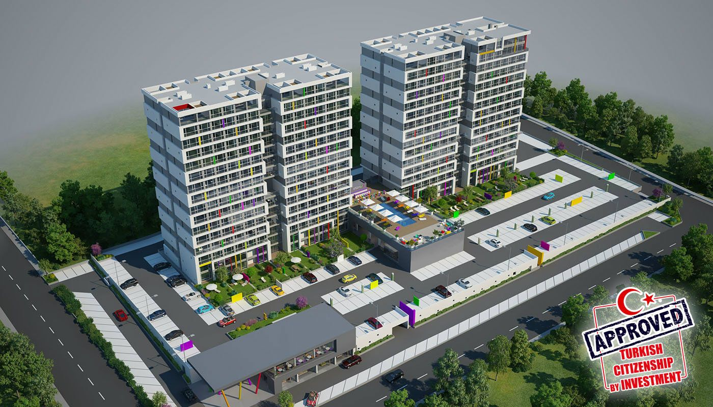 Advantageous Apartments with Modern Concept in Avcilar