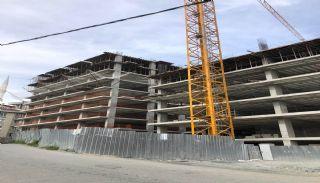 Квартиры для Инвестиций в Хорошем Месте Стамбула, Фотографии строительства-1