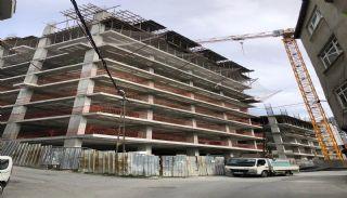 Квартиры для Инвестиций в Хорошем Месте Стамбула, Фотографии строительства-4