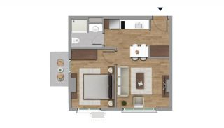 Investment Flats in the Desirable Location of Istanbul, Property Plans-1