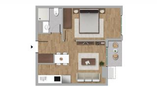 Investment Flats in the Desirable Location of Istanbul, Property Plans-3