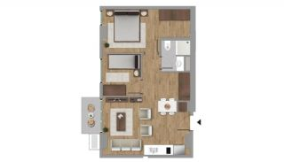 Investment Flats in the Desirable Location of Istanbul, Property Plans-6