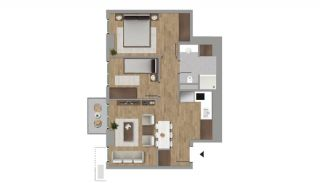 Investment Flats in the Desirable Location of Istanbul, Property Plans-9