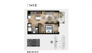 Luxury Apartments and Home-Offices in Istanbul , Property Plans-4