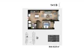Luxury Apartments and Home-Offices in Istanbul , Property Plans-5