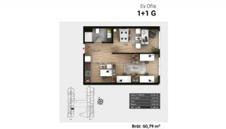 Luxury Apartments and Home-Offices in Istanbul , Property Plans-8