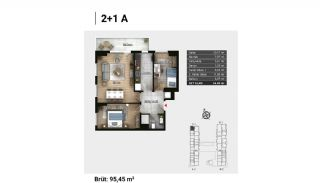 Luxury Apartments and Home-Offices in Istanbul , Property Plans-9