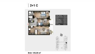 Luxury Apartments and Home-Offices in Istanbul , Property Plans-11