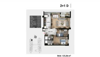 Luxury Apartments and Home-Offices in Istanbul , Property Plans-12