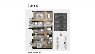 Luxury Apartments and Home-Offices in Istanbul , Property Plans-16