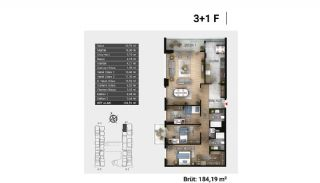 Luxury Apartments and Home-Offices in Istanbul , Property Plans-19