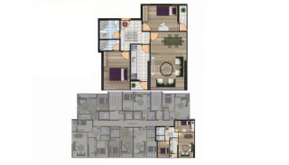 Luxury Istanbul Apartments Walking Distance to All Amenities , Property Plans-3