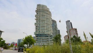 Sea View Flats with Jacuzzi and Terrace in Istanbul, Construction Photos-1