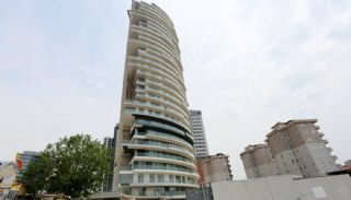 Sea View Flats with Jacuzzi and Terrace in Istanbul, Construction Photos-2