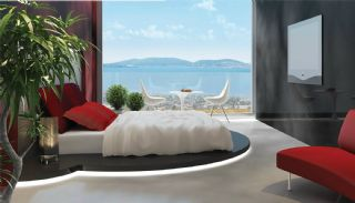 Sea View Flats with Jacuzzi and Terrace in Istanbul, Interior Photos-2