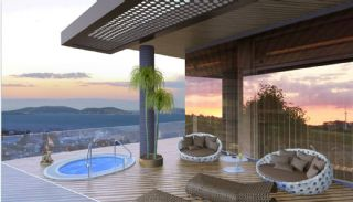Sea View Flats with Jacuzzi and Terrace in Istanbul, Interior Photos-4