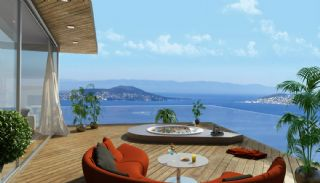 Sea View Flats with Jacuzzi and Terrace in Istanbul, Interior Photos-5