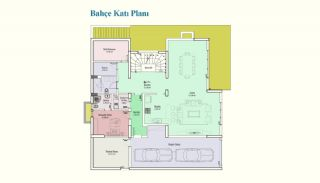 Просторные Частные Дома 7+2 с Лифтом в Стамбуле, Планировка -1