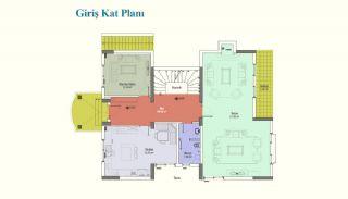 İstanbul Büyükçekmece'de Asansörlü Ultra Lüks Villalar, Kat Planları-2