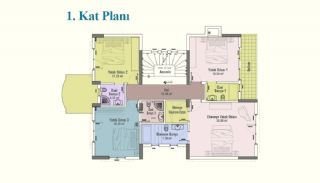 Ultra-Spacious 7+2 Private Houses with Lift in Istanbul, Property Plans-3