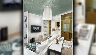 Special Designed Apartments Near Basin Express in Istanbul, Interior Photos-2