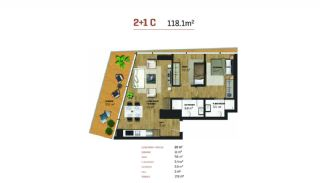 Luxury Istanbul Property Offering Investment Opportunity, Property Plans-5