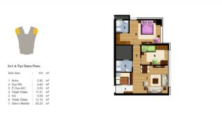 Advantageous Apartments Near All Amenities in Istanbul, Property Plans-5