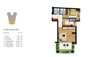 Advantageous Apartments Near All Amenities in Istanbul, Property Plans-6