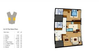 Advantageous Apartments Near All Amenities in Istanbul, Property Plans-8